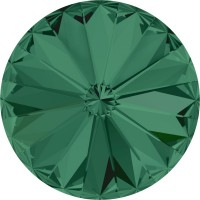 Rivoli Chaton 12mm Emerald F