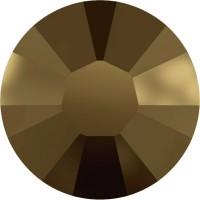 Xilion Rose Hotfix Rhinestone ss6 Crystal Dorado HF