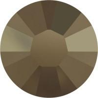 Xilion Rose Hotfix Rhinestone ss6 Crystal Metallic Light Gold HF