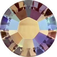 Xilion Rose Hotfix Rhinestone ss6 Topaz Shimmer HF