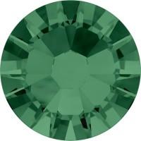 Xilion Rose Rhinestone ss10 Emerald F
