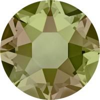Xirius Rose Hotfix Rhinestone ss34 Crystal Luminous Green HF