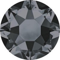 Xirius Rose Hotfix Rhinestone ss34 Crystal Silver Night HF
