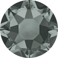 Xirius Rose Hotfix Rhinestone ss34 Black Diamond HF