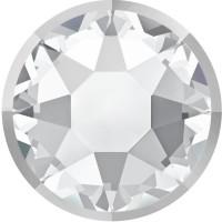 Xirius Rose Rimmed Hotfix Rhinestone ss34 Crystal & Lt. Chrome Z A HF
