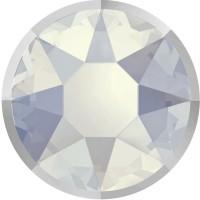 Xirius Rose Rimmed Hotfix Rhinestone ss16 White Opal & Lt. Chrome Z A HF
