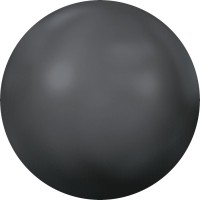 Cabochon Hotfix Half-Perl ss34 Crystal Dark Grey Pearl HF