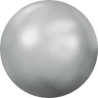 Cabochon Hotfix Half-Perl ss34 Crystal Light Chrome HF