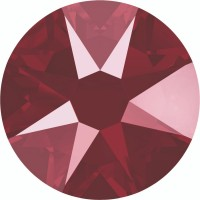 Xirius Rose Rhinestone ss12 Crystal Dark Red