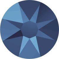 Xirius Rose Rhinestone ss30 Crystal Metallic Blue F