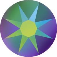 Xirius Rose Rhinestone ss34 Crystal Scarabaeus Green F