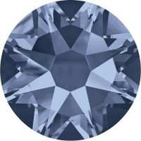 Xirius Rose Rhinestone ss12 Denim Blue F