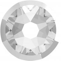Xirius Rose Rimmed Rhinestone ss34 Crystal & Lt. Chrome Z F