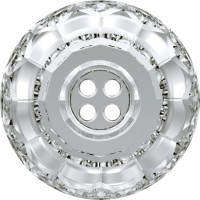 Classic Crystal Button (4 holes) 12mm Crystal F
