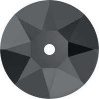 Xirius Lochrose sew-on stone 1 hole 5mm Crystal Silver Night