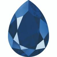 Pear Fancy Stone 18x13mm Crystal Royal Blue