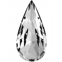 Teardrop Fancy Stone 30x15mm Crystal F