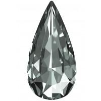 Teardrop Fancy Stone 18x9mm Black Diamond F