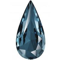 Teardrop Fancy Stone 18x9mm Denim Blue F