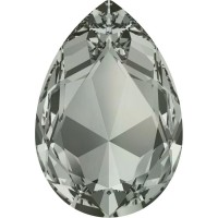 Large Pear 30x20mm Black Diamond F