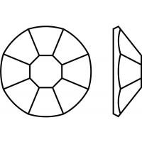 Rose 8 Facets Machine-Cut ss8 Capri Blue F