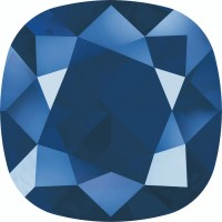 Round Square 12mm Crystal Royal Blue