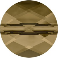 Mini Round Bead 8mm Crystal Bronze Shade