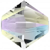 Xilion Bead 3mm Crystal Shimmer 2x