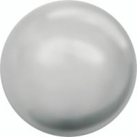 Crystal NoHole Pearl 2mm Crystal Light Grey Pearl