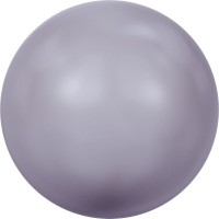 Crystal Round Pearl 12mm Crystal Mauve Pearl