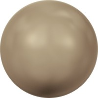 Crystal Round Pearl 8mm Crystal Bronze Pearl