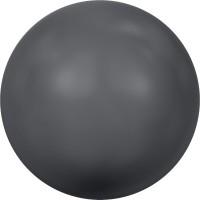Crystal Round Pearl 2mm Crystal Dark Grey Pearl