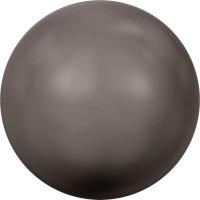 Crystal Round Pearl 8mm Crystal Brown Pearl