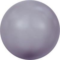 Crystal Pearl (large hole) 12mm Crystal Mauve Pearl