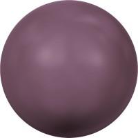 Crystal Pearl (large hole) 12mm Crystal Burgundy Pearl