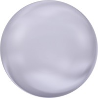 Crystal Coin Pearl 12mm Crystal Lavender Pearl