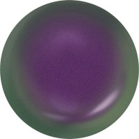 Crystal Coin Pearl 12mm Crystal Iridescent Purple Pearl