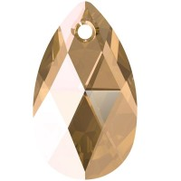 Pear-shaped Pendant 16mm Light Colorado Topaz