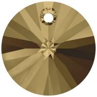 Xilion Pendant 8mm Crystal Bronze Shade