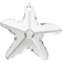 Starfish Pendant 20mm Crystal