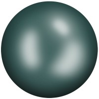 Ceramic Cabochon Hotfix ss10 Emerald HF