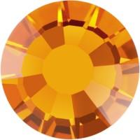 Rose Rhinestone Hotfix ss4 Topaz HF