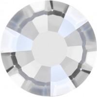 Rose Rhinestone Hotfix ss10 Crystal Velvet HF