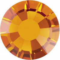 Rose Rhinestone Hotfix ss10 Sunflower HF