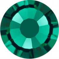 Rose Rhinestone Hotfix ss10 Emerald HF