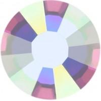 Rose Rhinestone Hotfix ss20 Crystal AB HF