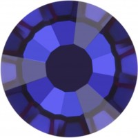 Rose Rhinestone Hotfix ss10 Majestic Blue HF