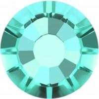 Rose Rhinestone Hotfix ss10 Light Turquoise HF