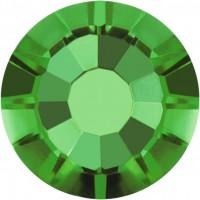 Rose Rhinestone Hotfix ss10 Green Turmaline HF