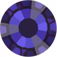 Rose Rhinestone Hotfix ss16 Crystal Meridian Blue HF